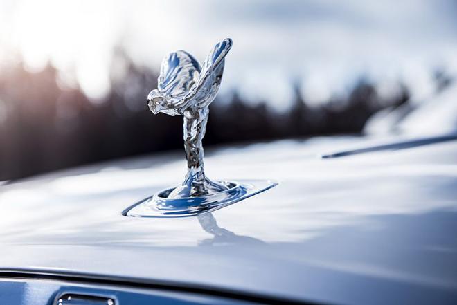 Biểu tượng logo xe Rolls Royce