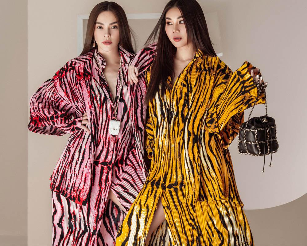Thanh Hằng – Hà Hồ thể hiện đẳng cấp trong bộ ảnh thời trang đầu xuân - hình ảnh 2