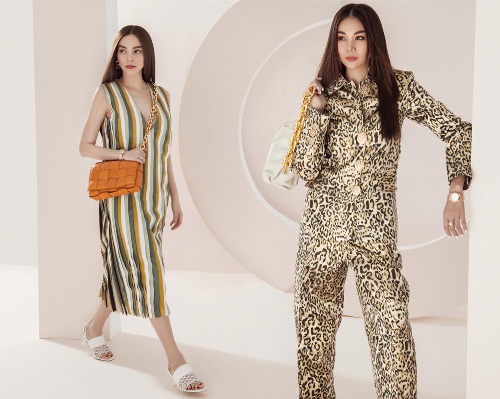 Thanh Hằng – Hà Hồ thể hiện đẳng cấp trong bộ ảnh thời trang đầu xuân - hình ảnh 3