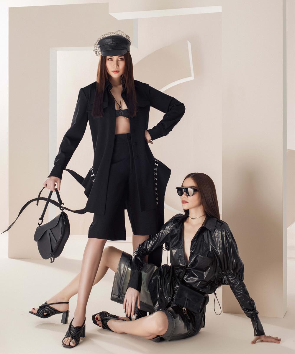 Thanh Hằng – Hà Hồ thể hiện đẳng cấp trong bộ ảnh thời trang đầu xuân - hình ảnh 5