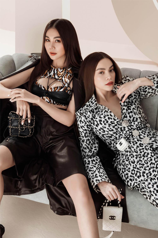 Thanh Hằng – Hà Hồ thể hiện đẳng cấp trong bộ ảnh thời trang đầu xuân - hình ảnh 6