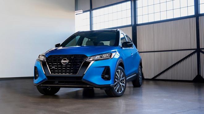 Nissan Kicks ra mắt tại Mỹ, giá bán từ 500 triệu đồng