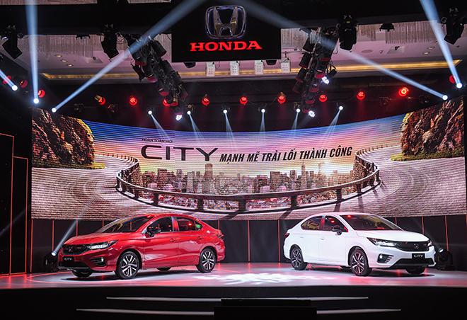 Giá xe Honda City lăn bánh tháng 2/2021 - 2