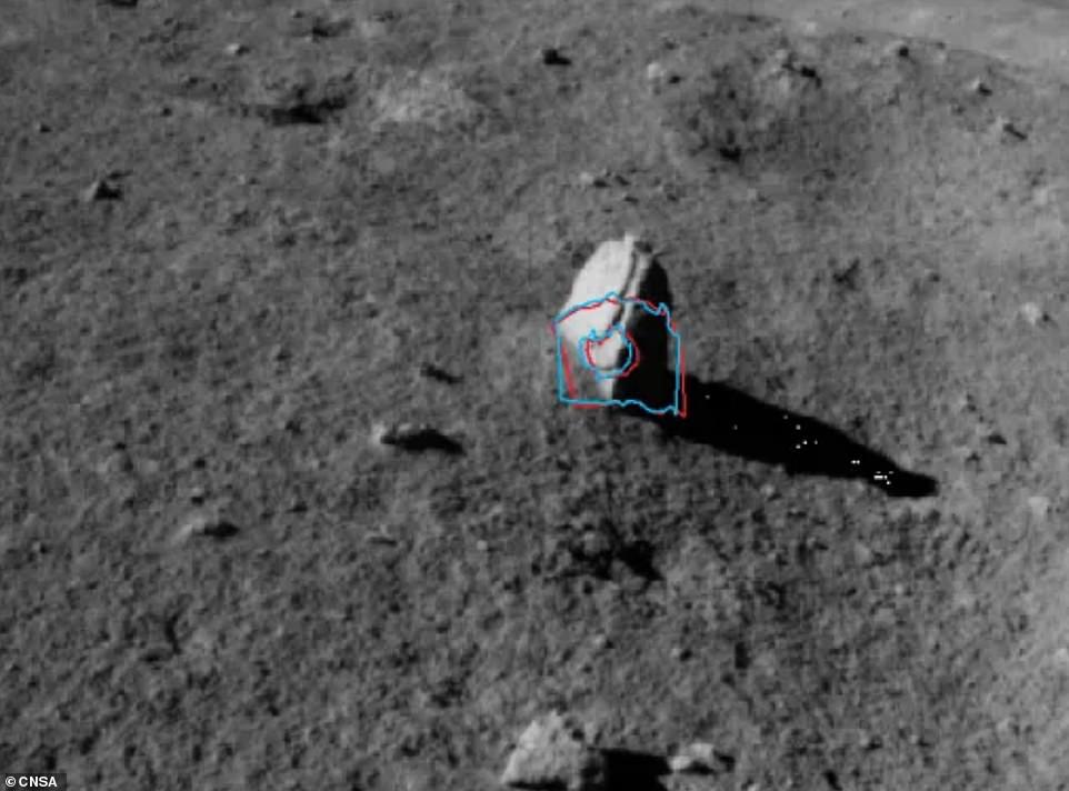 Tàu thám hiểm TQ phát hiện tảng đá bí ẩn trên Mặt Trăng - hình ảnh 1
