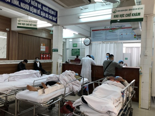 Giật mình với số người cấp cứu do đánh nhau dịp Tết Tân Sửu - 1