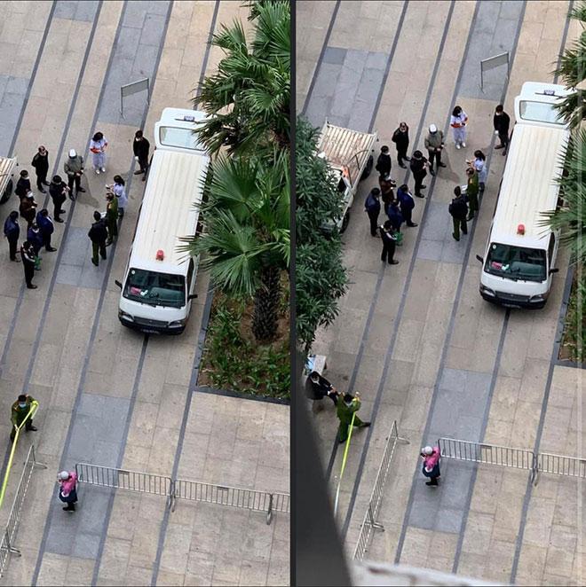 Hà Nội: Phong tỏa tòa chung cư có người Hàn Quốc tử vong - hình ảnh 1