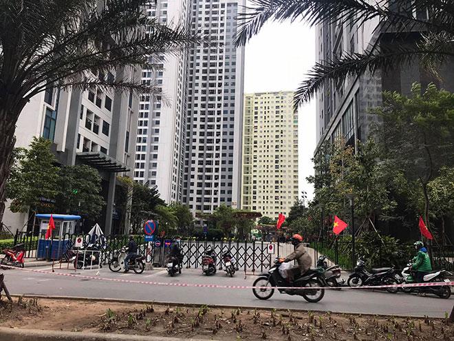 Hà Nội: Phong tỏa tòa chung cư có người Hàn Quốc tử vong - hình ảnh 2