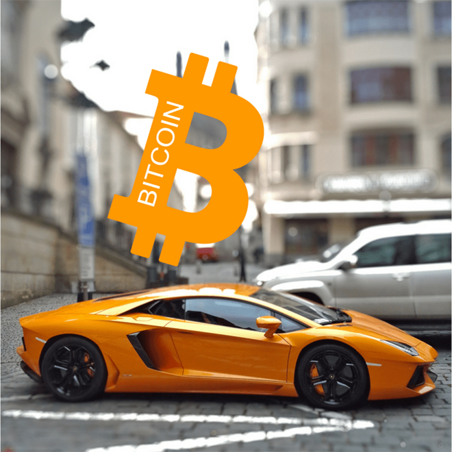 Đã có người mua được siêu xe bằng tiền số bitcoin - 1