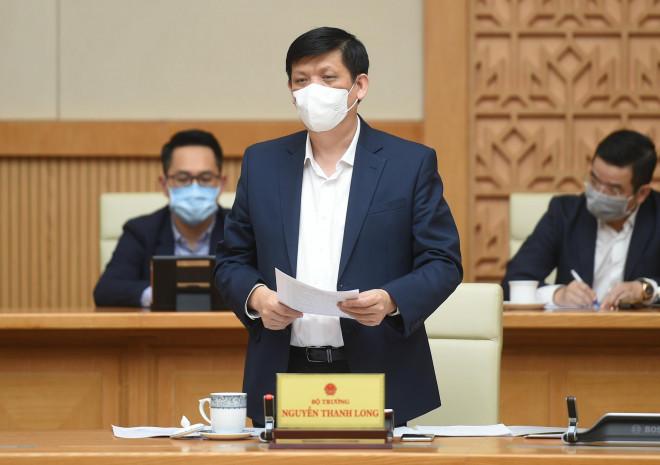 Bộ Y tế rút lực lượng tiền phương ở TP.HCM về tăng chi viện Hải Dương - 1