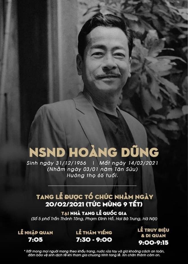 Di nguyện của cố NSND Hoàng Dũng được gia đình tiết lộ, dàn sao Việt đồng loạt chia sẻ - 1