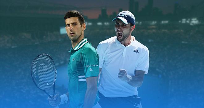 """Karatsev có """"vũ khí bí mật"""" làm Djokovic suýt """"ngã ngửa"""" ở Australian Open - 1"""