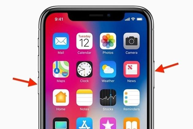 Cách tắt nguồn iPhone X đơn giản thực hiện trong giây lát - 1
