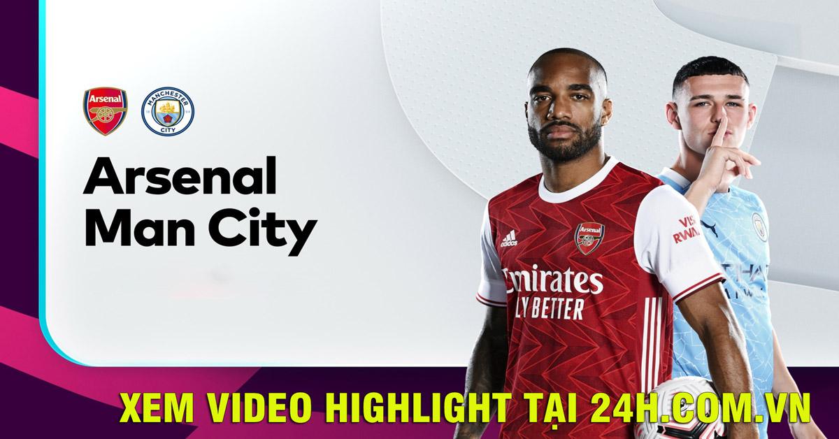 Trực tiếp bóng đá Arsenal - Man City: De Bruyne xuất phát đấu Odegaard