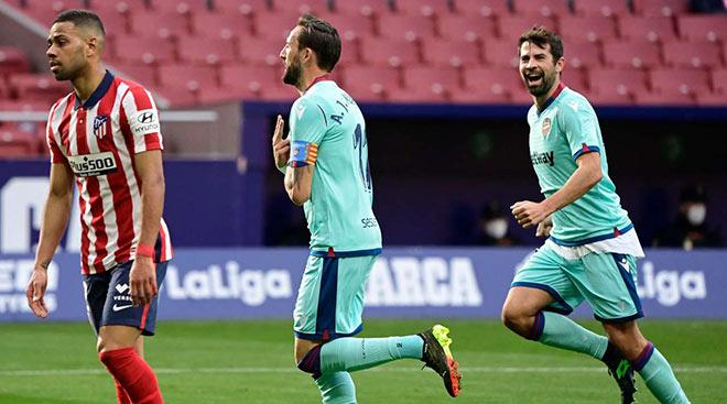 Video Atletico Madrid - Levante: Bàn thắng may mắn, kết quả bất ngờ - 1