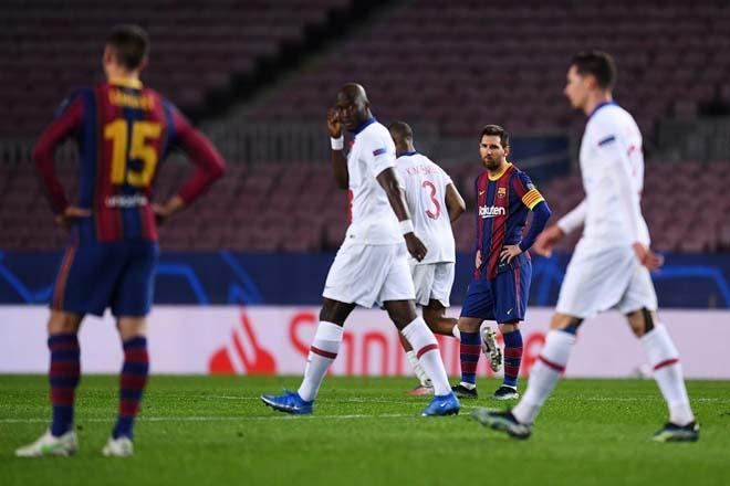 Barca khủng hoảng: Có một Messi tồi tệ, chỉ biết