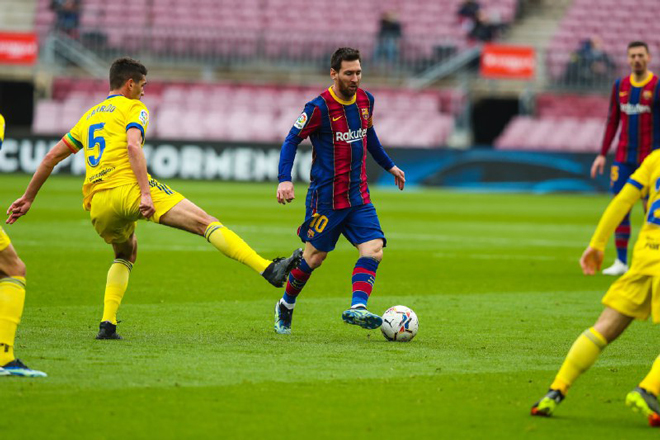 Video Barcelona - Cadiz: Sững sờ 2 quả penalty, cơn ác mộng phút 89 - 1