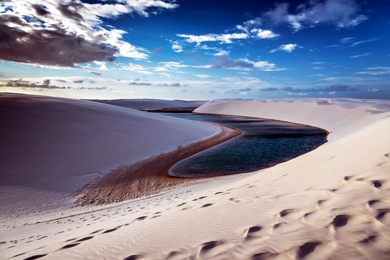Những sa mạc kỳ quái nhất hành tinh khiến cả những du khách giàu kinh nghiệm nhất phải kinh ngạc - 1