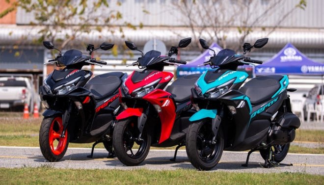 Yamaha Aerox 155 hoàn toàn mới: Xe ga thể thao giá tầm thấp, đốn tim phái mạnh - 1
