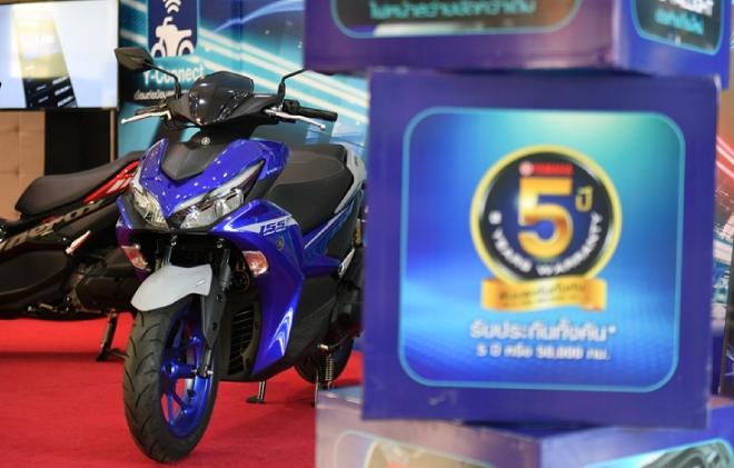 Yamaha Aerox 155 hoàn toàn mới: Xe ga thể thao giá tầm thấp, đốn tim phái mạnh - 10