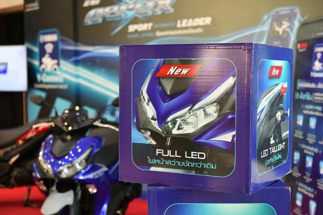 Yamaha Aerox 155 hoàn toàn mới: Xe ga thể thao giá tầm thấp, đốn tim phái mạnh - 4