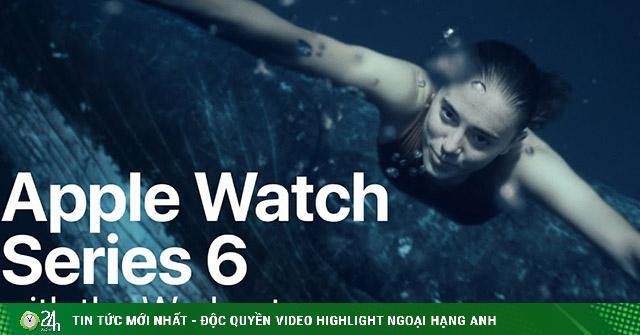 Apple Watch Series 6 lại nổi rần rần với quảng cáo...