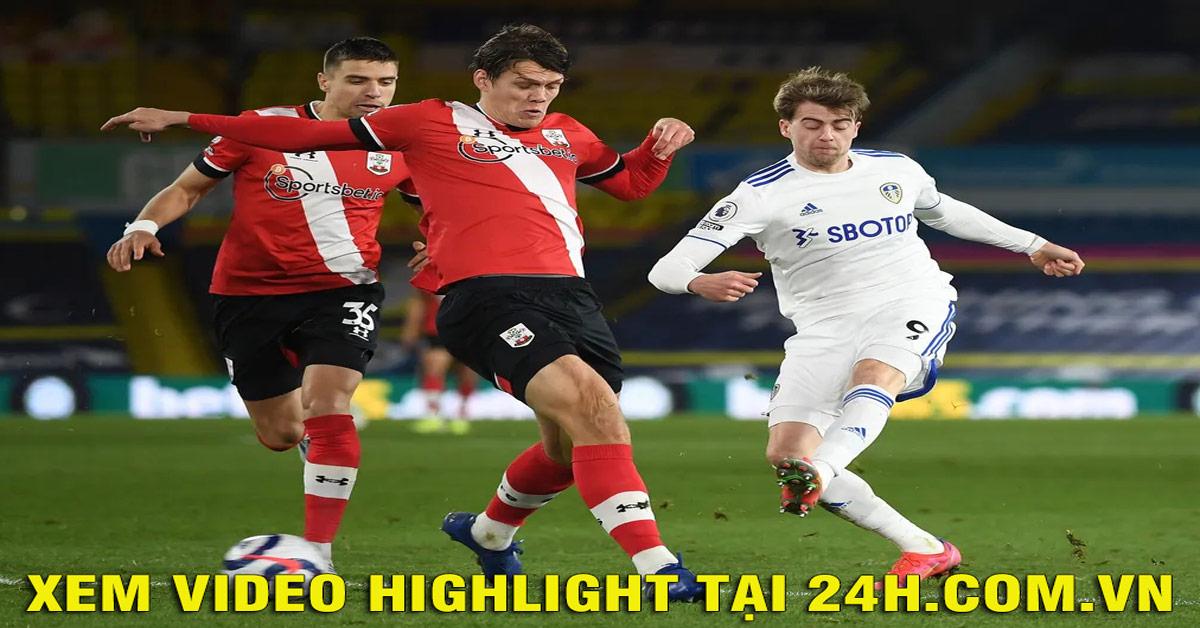 Video Leeds United - Southampton: Sững sờ 3 bàn, siêu phẩm chốt hạ