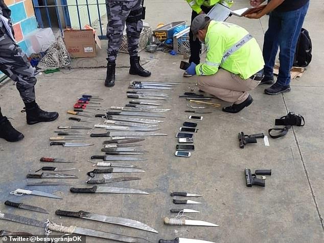 Băng đảng hỗn chiến trong tù ở Ecuador, hơn 50 tù nhân thiệt mạng