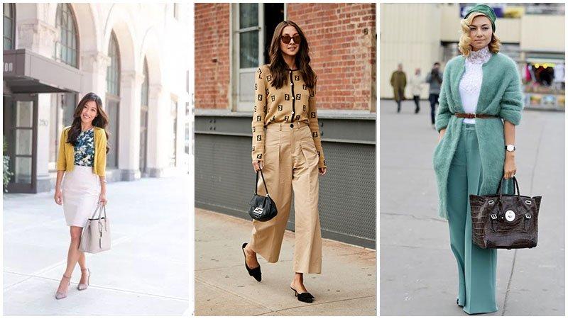 Tuyển tập cách mặc áo cardigan – chiếc áo cô gái nào cũng phải có - hình ảnh 11
