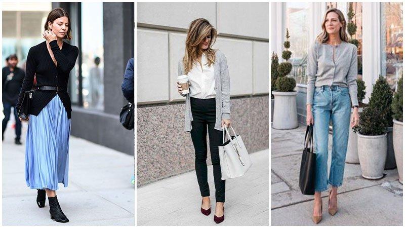 Tuyển tập cách mặc áo cardigan – chiếc áo cô gái nào cũng phải có - hình ảnh 12