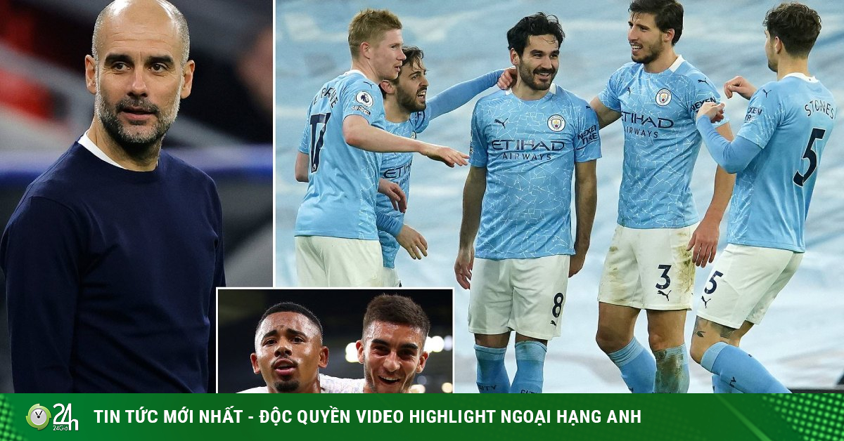 Ngã ngửa Pep Guardiola lộ bí mật Man City thắng 18 trận: Chúng tôi có nhiều tiền