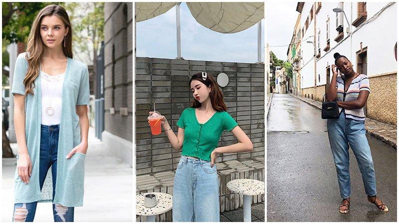 Tuyển tập cách mặc áo cardigan – chiếc áo cô gái nào cũng phải có - hình ảnh 6