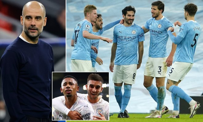 Ngã ngửa Pep Guardiola lộ bí mật Man City thắng 19 trận: