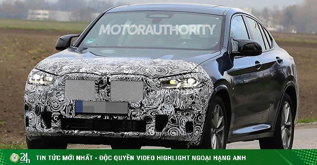 BMW X4 phiên bản nâng cấp bị bắt gặp trên đường thử