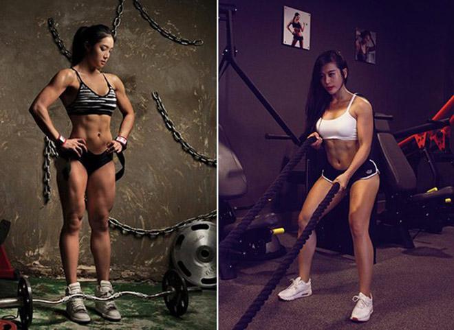 Người đẹp tập Gym số đo 3 vòng mỹ mãn, xoạc chân cực đẹp: Dễ hay khó? (Bài 3) - 2