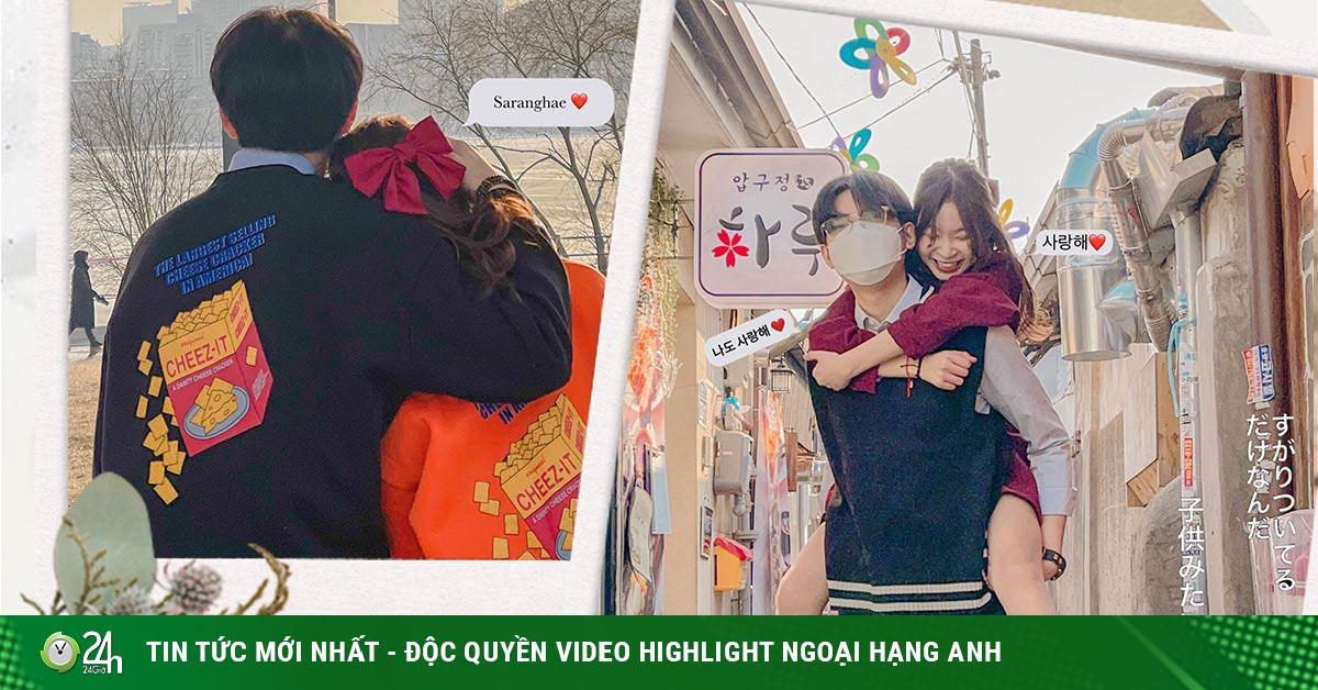 Nữ sinh Việt sang Hàn tìm được người yêu soái ca hút gần 50 nghìn người theo dõi