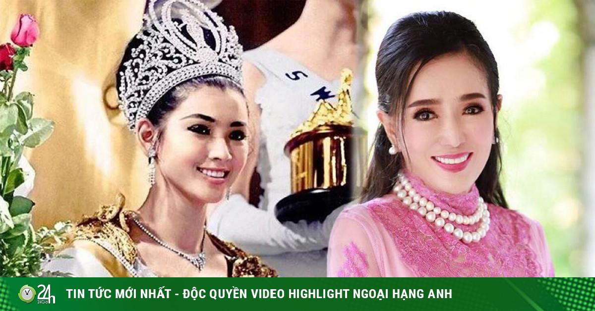 Hoa hậu Hoàn vũ Thái Lan U80 vẫn sở hữu body cân đối, nhan sắc trẻ trung