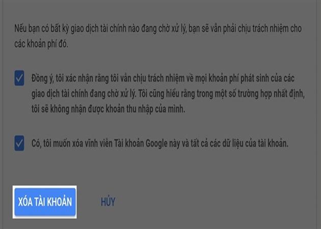 Cách xóa tài khoản Google nhanh trên máy tính, điện thoại - 3