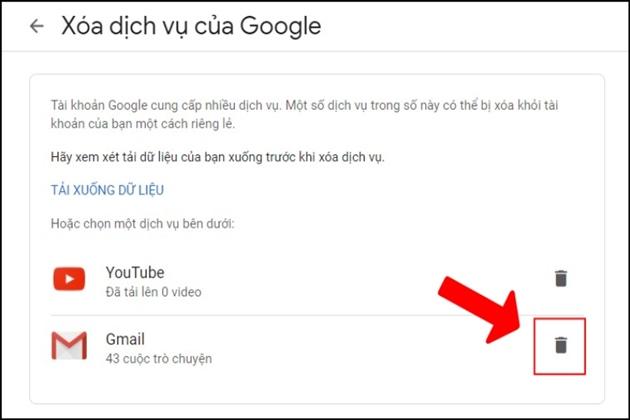 Cách xóa tài khoản Google nhanh trên máy tính, điện thoại - 7