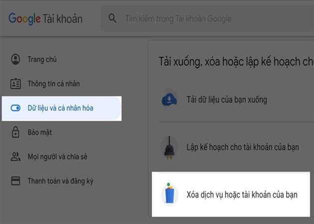Cách xóa tài khoản Google nhanh trên máy tính, điện thoại - 1