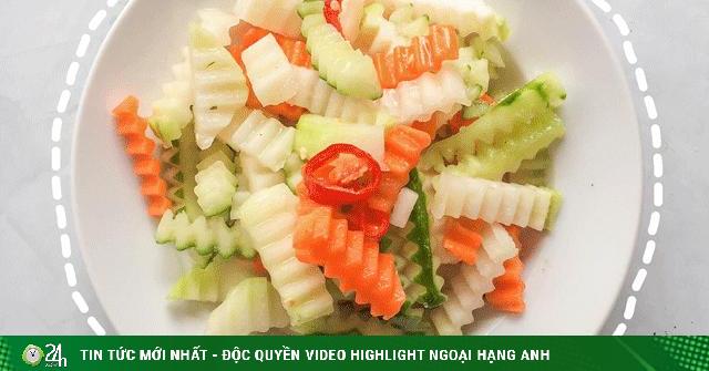 Giải cứu rau củ sạch Hải Dương với 4 món ngon từ su hào