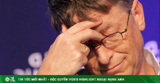 Tỷ phú Bill Gates nói về sai lầm lớn nhất đời mình