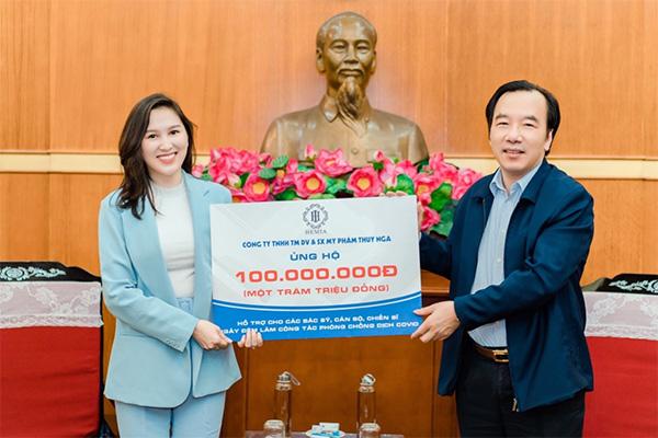 CEO 9X Võ Thanh Thúy thích làm thiện nguyện - 4