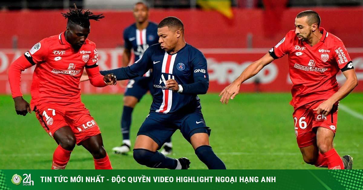 Video Dijon - PSG: Tiệc bóng đá tấn công, vinh danh Cậu bé vàng