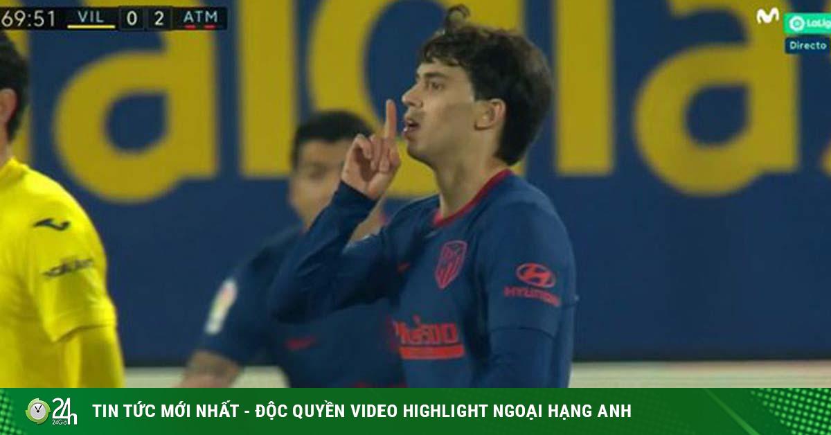 Đàn em Ronaldo ăn mừng bàn thắng gây sốc, khiêu khích HLV Simeone?