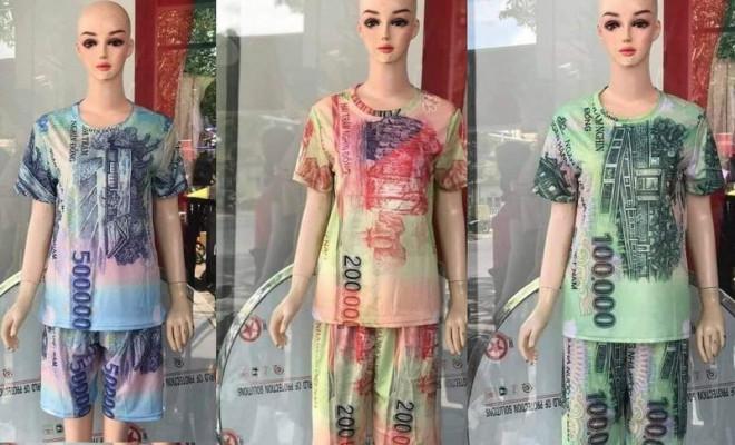 Bán quần áo in hình tiền Việt Nam: Bị phạt đến 50 triệu đồng - 2