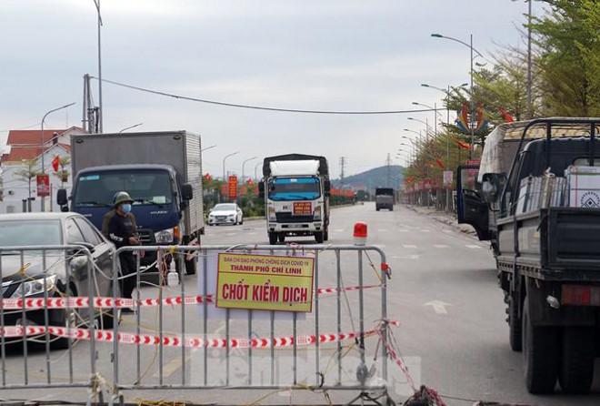 Toàn cảnh TP Chí Linh trước giờ gỡ phong tỏa - 1
