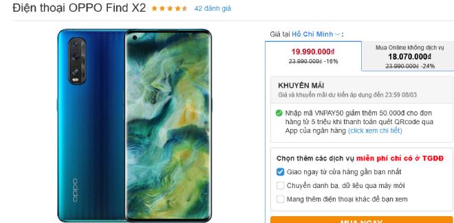 Nhiều smartphone giảm giá mạnh tại thị trường Việt dịp 8/3 - 4