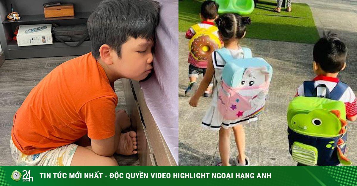 Cười ngất các biểu cảm của dàn nhóc tì nhà sao Việt khi đi học lại sau kỳ nghỉ Tết dài