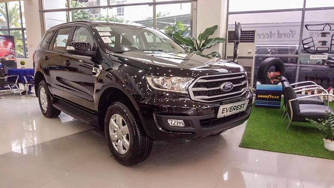 Everest phiên bản Ambiente bị loại khỏi danh mục của Ford Việt Nam