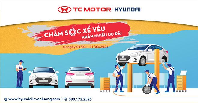 Hyundai Lê Văn Lương khuyến mãi dịch vụ tháng 3 - 1
